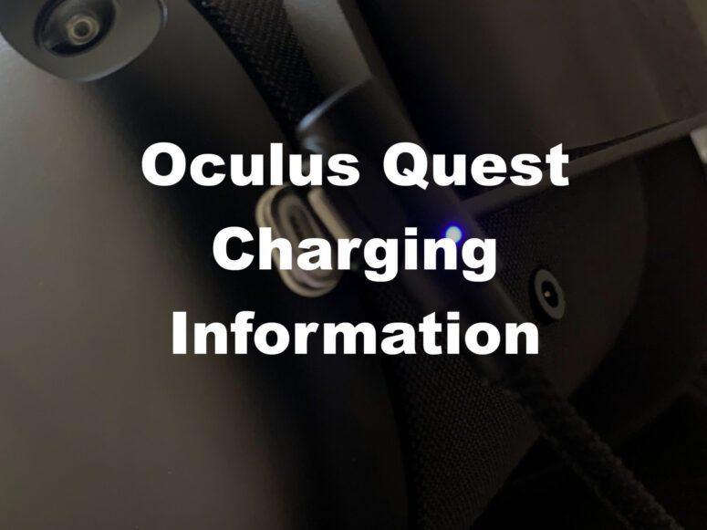 Oculus Quest Charging