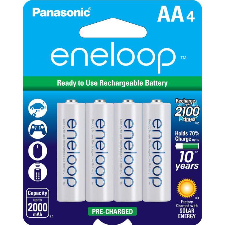 Panasonic Eneloop AA batteries