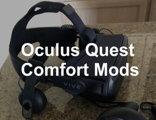 How to Make the Oculus Quest More Comfortable