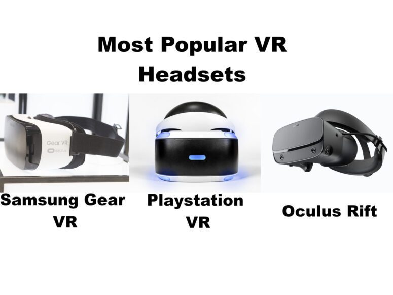 Most Popular VR Headsets