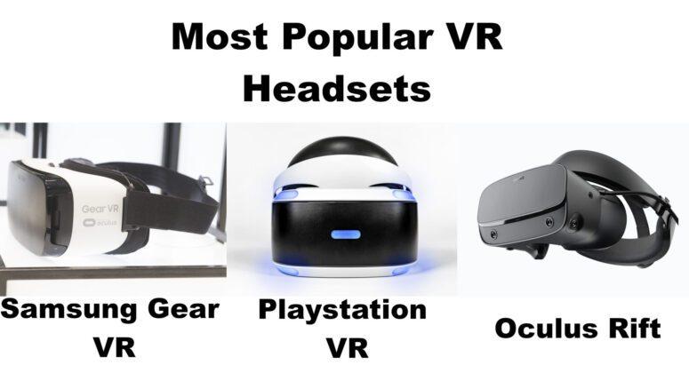 Popular VR Headsets